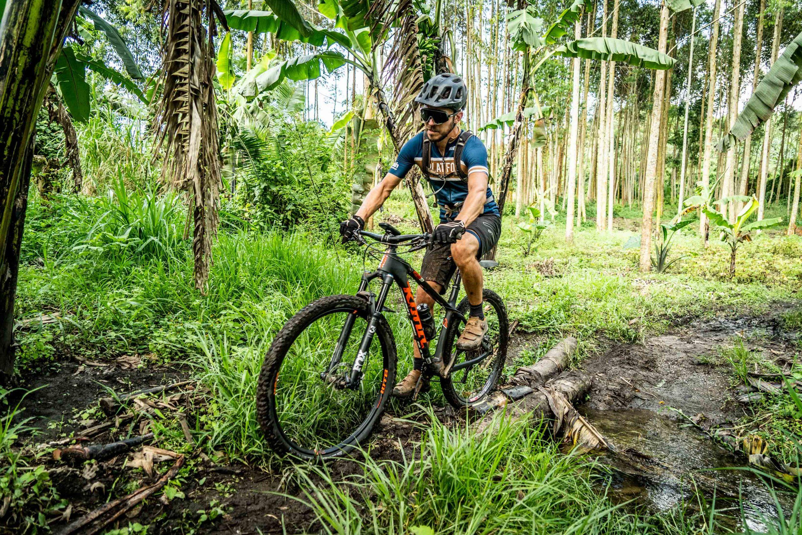 Mountainbike jungle