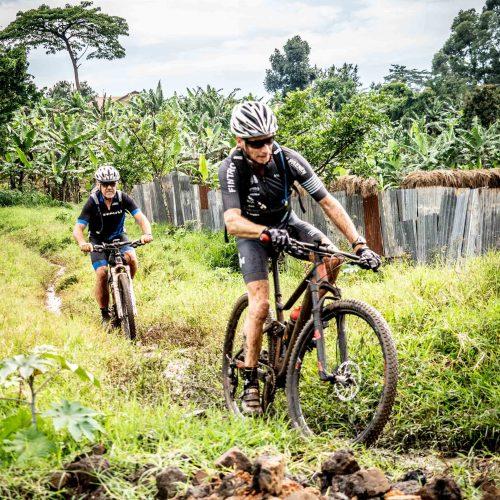 Fietsen Kampala